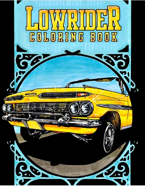 Low Rider Coloring book