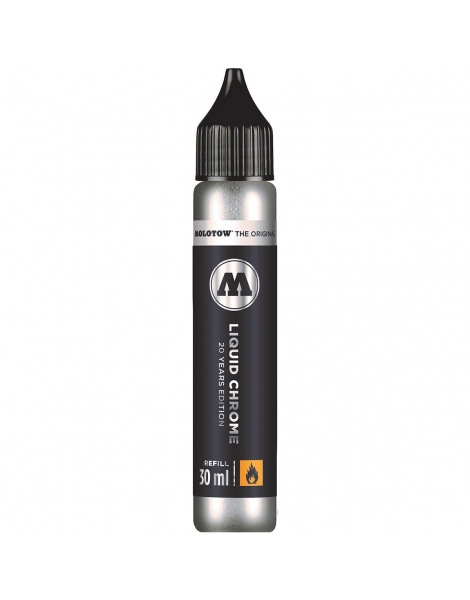 Liquid Chrome 30ml Refill