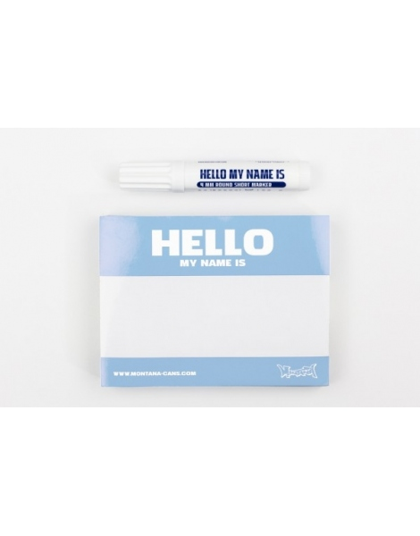 Hello My Name Is (Light Blue)