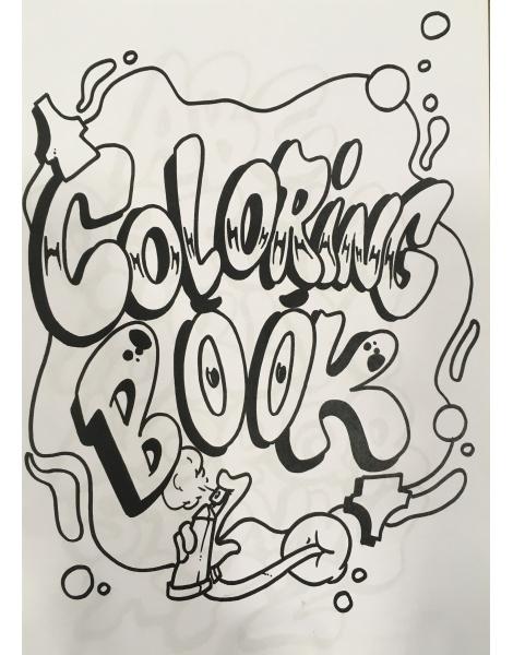 Dedicated Coloring Book