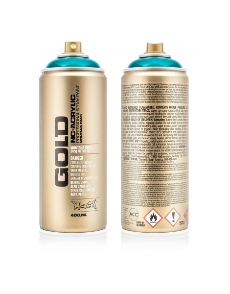 Montana GOLD 400ml - Transparent