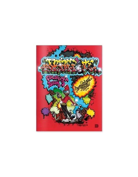 graffiti coloring book N3