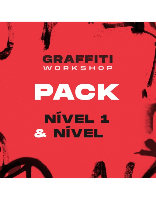 Workshop Graffiti Pack - Nível 1 & 2