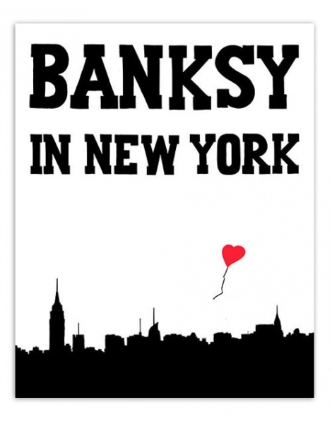 Livro BANKSY IN NEW YORK