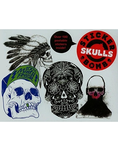 URBAN MEDIA STICKER BOMB SKULLS